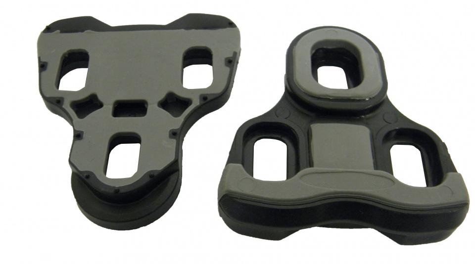 Asista schoenplaatjes Look KEO per set 0 graden zwart