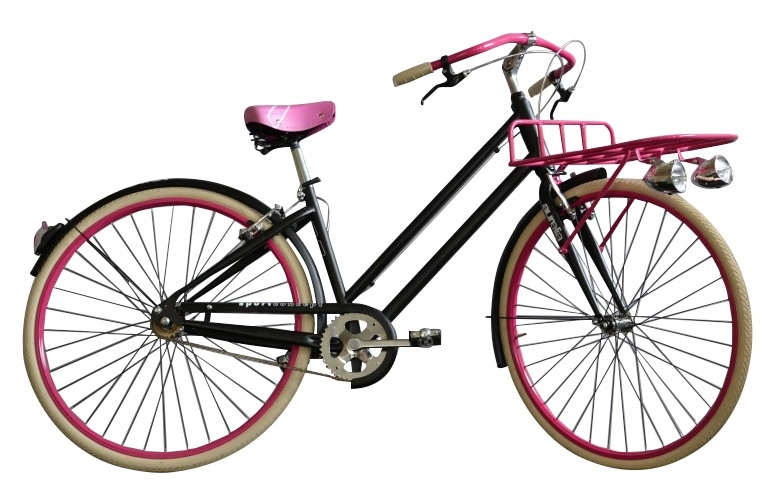 Aurelia - 1028sd Single Speed 28 Inch 43 Cm Dames V-brake Zwart