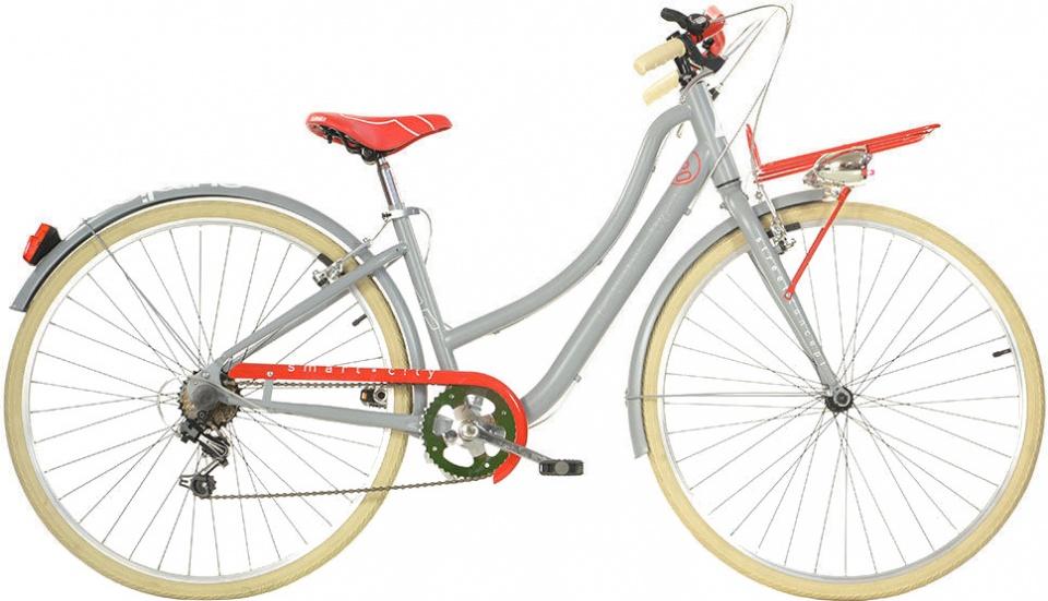 Aurelia Smart City 28 Inch 43 cm Dames 6V V Brake Grijs
