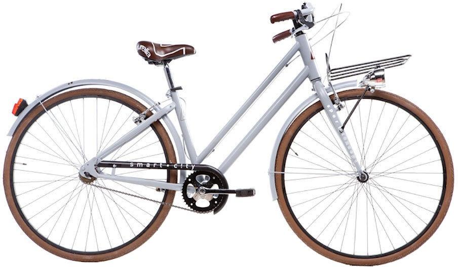 Aurelia Smart City 28 Inch 43 cm Dames V Brake Grijs