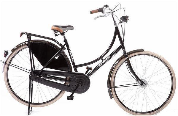 Avalon - Classic De Luxe 28 Inch 57 Cm Dames 3v Rollerbrake Zwart