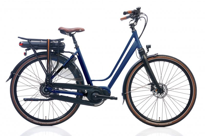 Kohlman Deluxe 28 Inch 52 cm Dames 8V Hydraulische schijfrem Donkerblauw