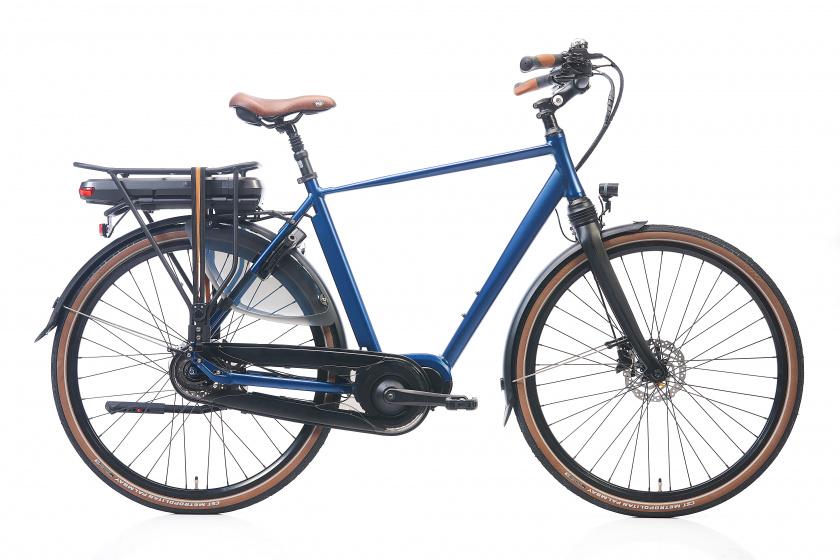 Avalon DeLuxe 28 Inch 54 cm Heren 8V Hydraulische schijfrem Blauw