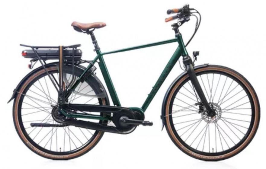 Avalon DeLuxe 28 Inch 57 cm Heren 8V Hydraulische schijfrem Groen
