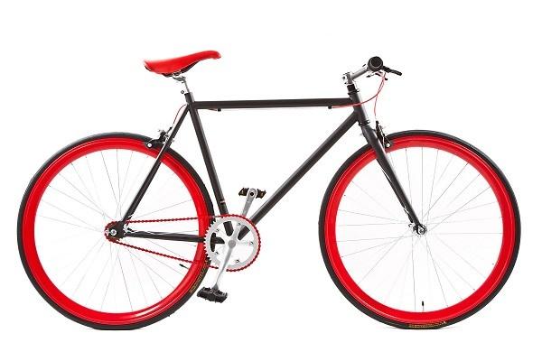Avalon - Fixed Gear 28 Inch 59 Cm Heren V-brake Zwart