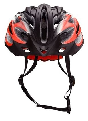 Avento Fietshelm senior unisex zwart rood maat 54/58 cm