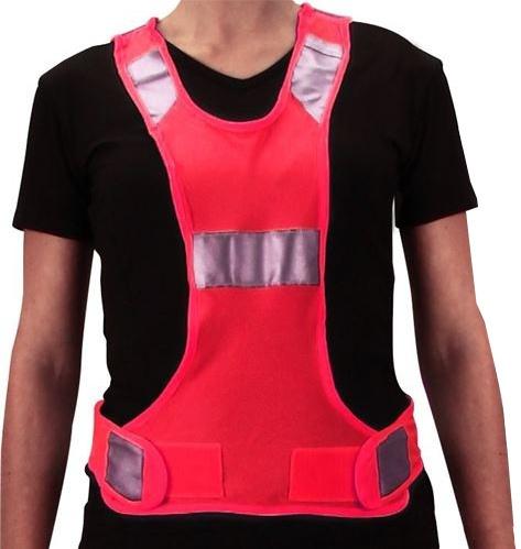 Avento Reflectievest Sport Unisex Roze Maat XS/S
