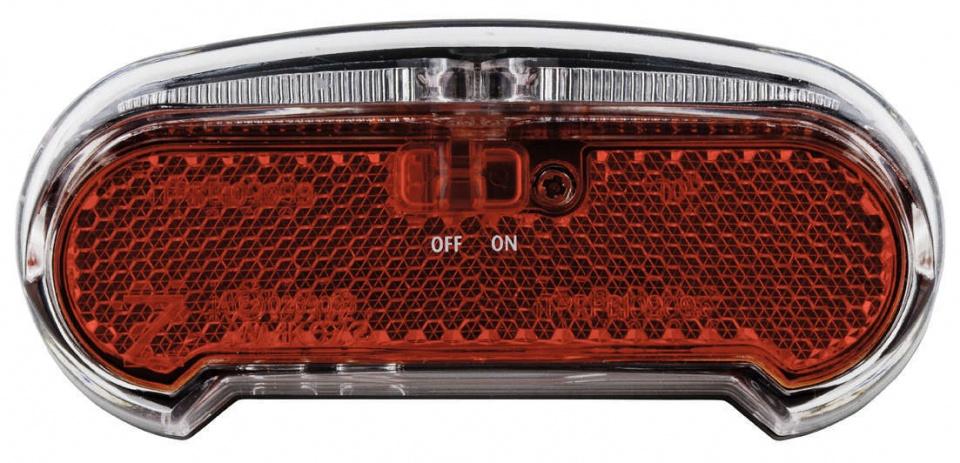 AXA Achterlicht Riff Switch LED batterij aan/uit zwart