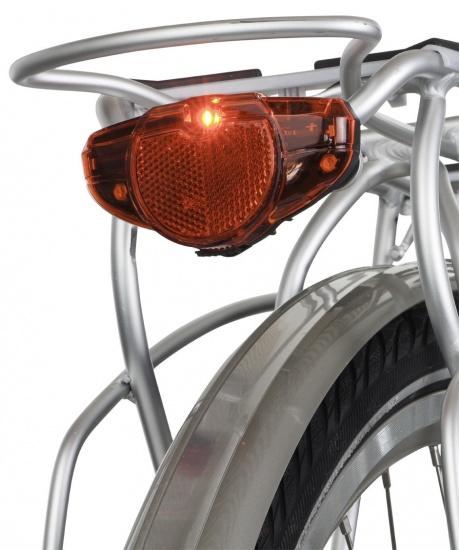 AXA Achterlicht Spark RKF LED Batterij Zwart Rood
