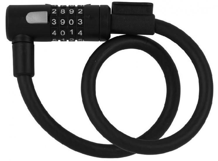 AXA Kabelcijferslot Newton 600 x 12 mm zwart