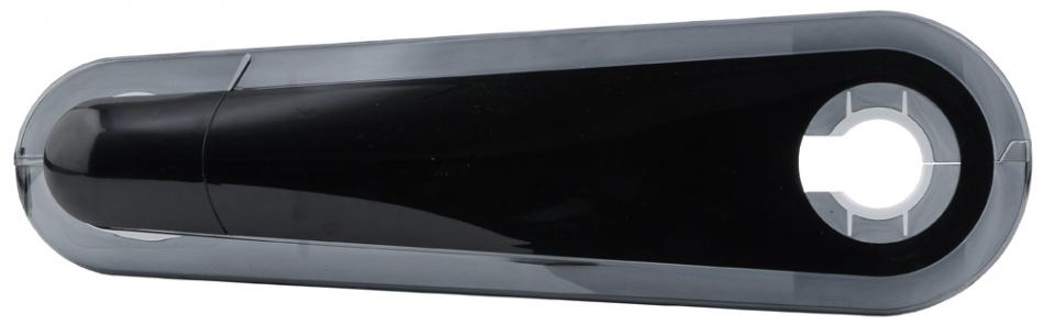 AXA Kettingkast Snapper 28 Inch Gesloten Zwart 64X19CM