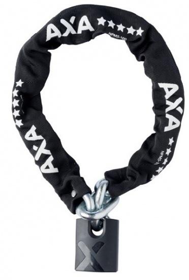 AXA Kettingslot Promoto 5 met nylon hoes 1000 x 14,5 mm zwart