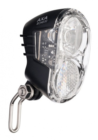 AXA Koplamp Echo30 Steady LED Dynamo Aan/Uit
