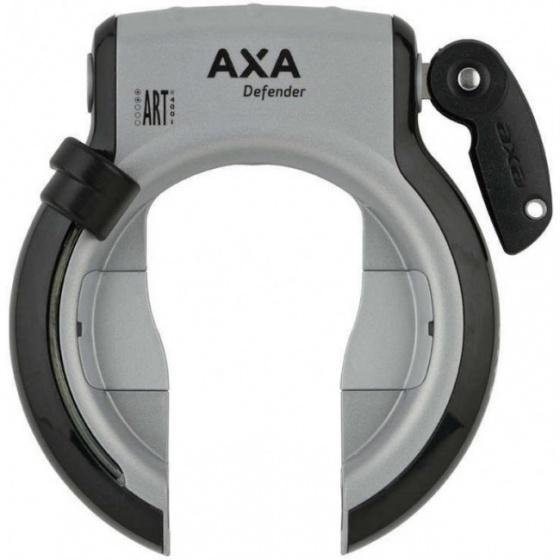 AXA ringlot Defender klapsleutel zwart/zilver