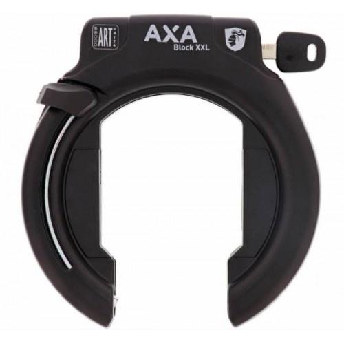 AXA ringslot Block XXL in blisterverpakking zwart