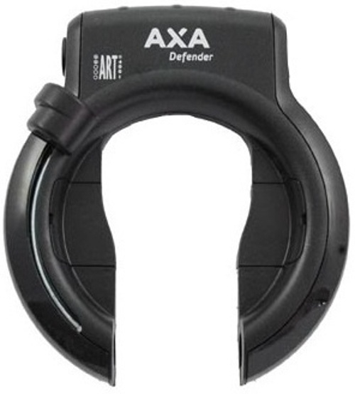 AXA ringslot Defender met insteekketting 140 cm ART 2 zwart