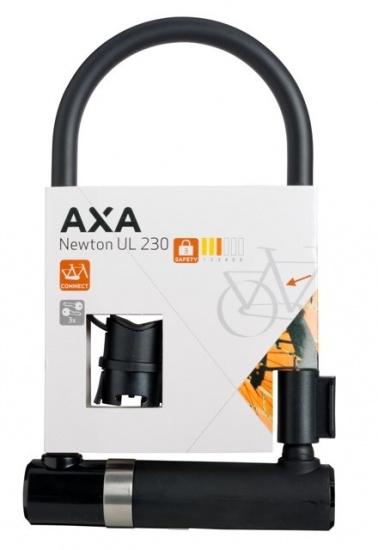 AXA U Slot Newton UL 230 230 x 14 mm Art 3 staal zwart