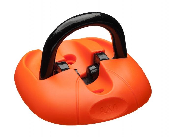 AXA vloer/muuranker 14 mm oranje/zwart