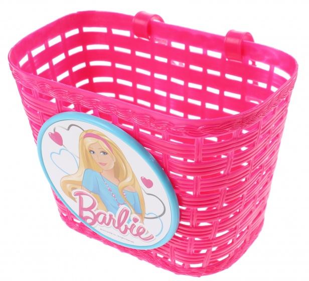 Barbie fietsmand roze 6 liter