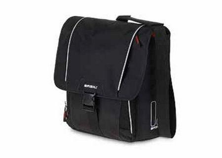 Basil Basil Sport Design Commuter Bag Schoudertas 18L Zwart