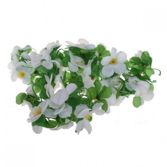 Basil Bloemenstreng Flower Garland 120 cm wit