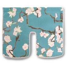 Basil Blossom Twig Windschermflap Blauw