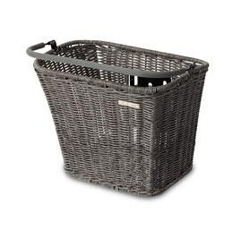 Basil Fietsmand Basimply Rattan Look Nature Grey (19028)