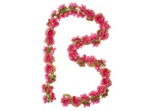 Basil Flower Garland Bloemenstengel 170cm Fuchsia