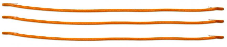 Basil Keep In Place elastisch koord oranje 3 stuks