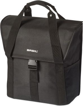 Basil pakaftas Go Single 18 L zwart
