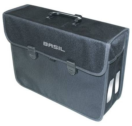 Basil pakaftas Malaga 17 L zwart