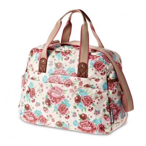 Basil Schoudertas Bloom Carry All Bag 18 Liter Gardenia Wit