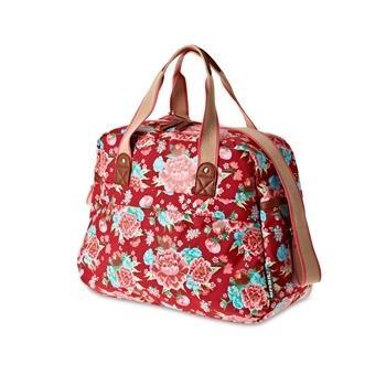 Basil Schoudertas Bloom Carry All Bag 18 Liter Scarlet Red