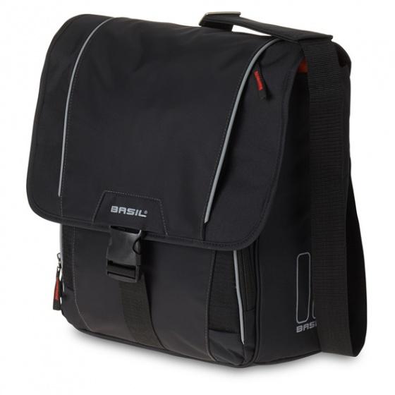 Basil schoudertas Sport Design Commuter 18 liter zwart