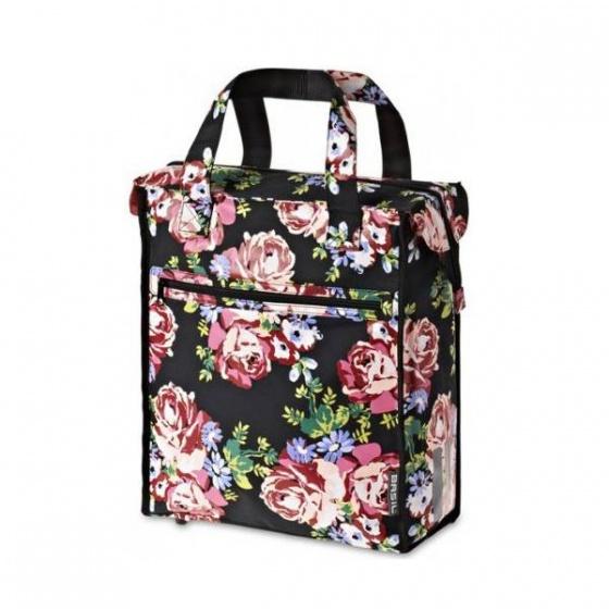Basil Shopper Blossom Roses 19 liter zwart