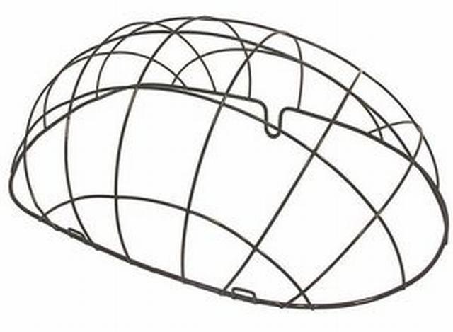 Basil Stalen Draadkoepel Voor Rieten Hondenmand Pasja 50cm