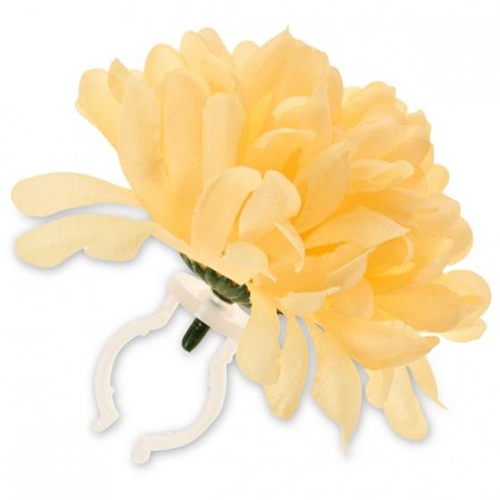 Basil stuurbloem Dahlia geel