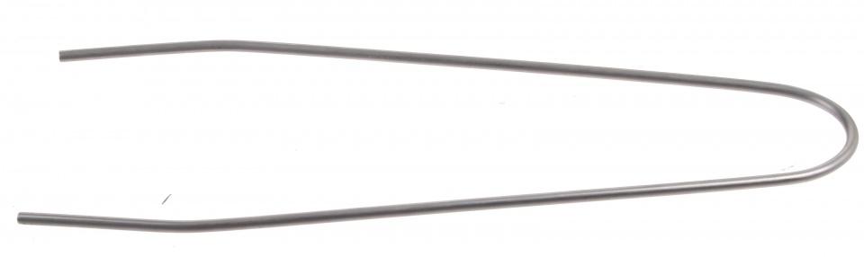 Batavus spatbordstang draad staal 20 inch zilver per stuk