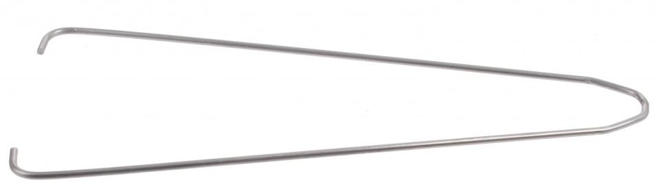 Batavus spatbordstang draad staal 26 inch zilver per stuk