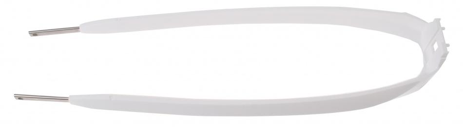 Batavus spatbordstang kunststof 28 inch wit per stuk