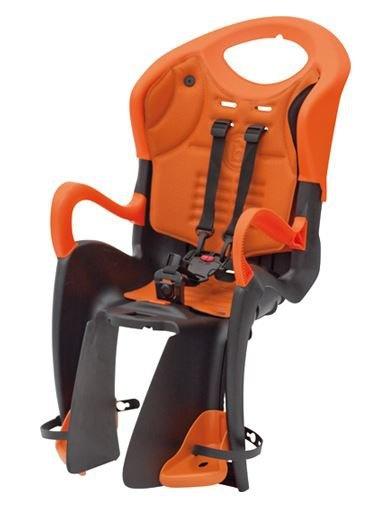 Bellelli Tiger Fietszitje Achter Zwart Oranje Relax