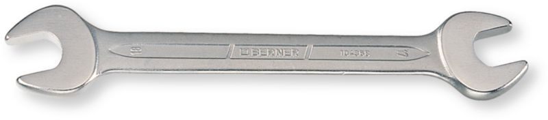 Berner steeksleutel 12 13 mm chroom vanadium zilver