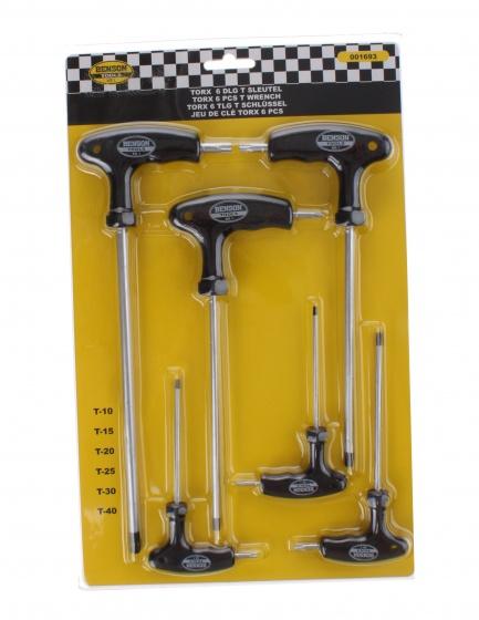 Best Buy torxset T10 T15 T20 T25 T30 T40 zwart/zilver 6 delig