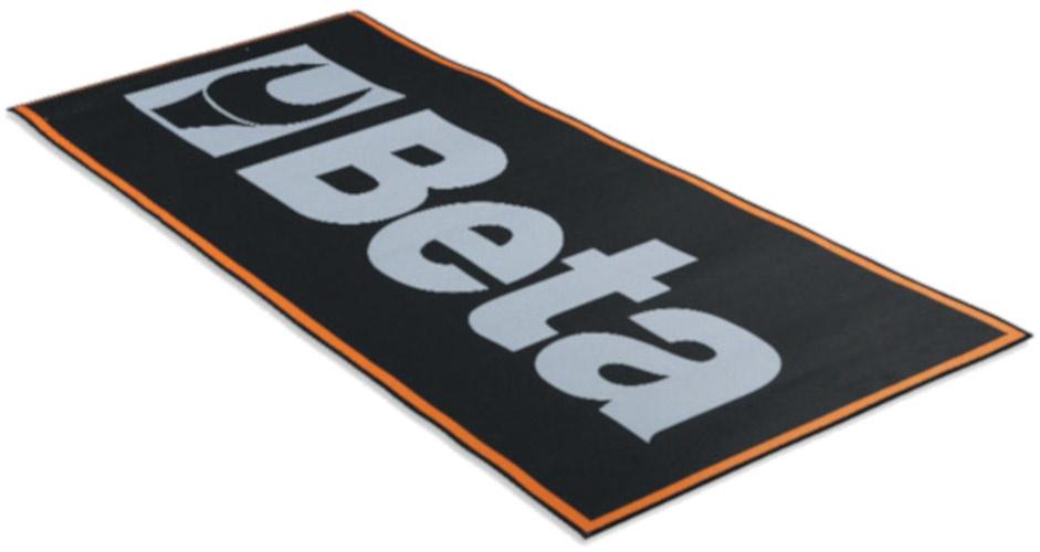 Korting Beta Werkplaatsmat 9562p2 200 X 80 Cm Polyester rubber Zwart