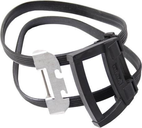 Bibia snelbinder 26 cm zwart
