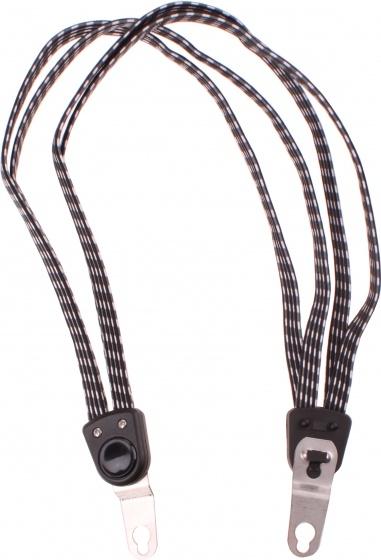Bibia snelbinder Quattro 28 inch grijs/zwart