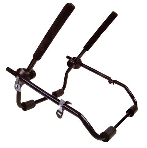 Bicycle Gear Fietsendrager Achterklep 2 fietsen staal zwart