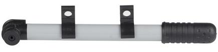 Bicycle Gear Handpomp zwart/zilver 25 cm