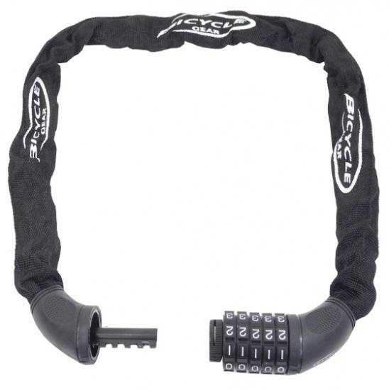 Bicycle Gear Kettingslot Combinatie 90 cm 5.5 mm zwart