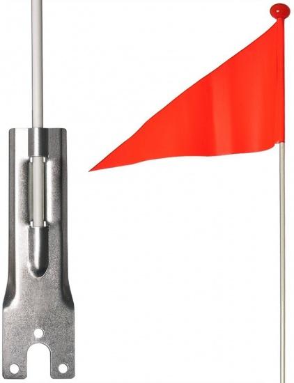 Bicycle Gear Veiligheidsvlag Oranje